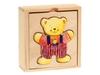 "Пазлы в коробке ""Одень медвеженка"". Вид 2"