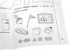 Тетрадь для рисования Знакомство с геометрией 1 часть. Вид 3