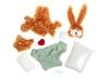 Набор для изготовления мягкой игрушки Плюшевое сердце SoftToy Заяц Касси. Вид 3