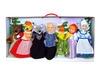 Кукольный театр с ширмой и декорациями (с животными). Вид 3
