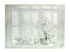 Холст цветы на окне. Вид 3