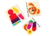 Аппликация для малышей №6 Песик Веселый хвостик. Вид 4