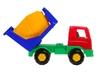 Автомобиль бетоновоз. Вид 3
