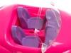 Машинка розовая. Вид 3