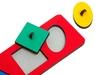 Рамки-вкладыши геометрические фигуры. Вид 2