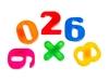 Магнитишка с мелками, азбука и цифры. Вид 4
