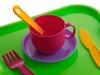 Набор посуды с подносом минутка на 2 персоны. Вид 4