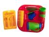 Набор детской посуды алиса 4 с сушилкой. Вид 1
