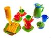 Набор детской посуды алиса 4 с сушилкой. Вид 2