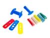 Масса для моделирования игроформ 5 цв + шприц гамма. Вид 2