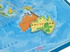 Карта паззл карта мира. Вид 3