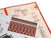 Сборная модель Умная бумага Никольская башня Московского кремля. Вид 4