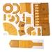 Сборная модель Умная бумага Деревянная церковь. Вид 3