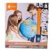Интерактивный глобус Земли Globen Физико-политический с подсветкой 32 см. Вид 2