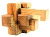 Простейший узел из шести брусочков(боль). Вид 2