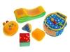 Мягкая кубики Мякиши Улитка с сундучком. Вид 2