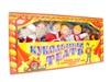 Кукольный театр с ширмой и декорациями (с дедом морозом). Вид 1