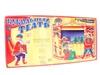 Кукольный театр с ширмой и декорациями (с дедом морозом). Вид 2