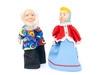 Кукольный театр с ширмой и декорациями (с дедом морозом). Вид 6