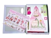 Розовый домик с куклой. Вид 1