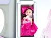 Розовый домик с куклой. Вид 2
