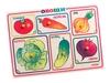 Рамки-вкладыши Овощи. Вид 1