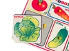 Рамки-вкладыши Овощи. Вид 3