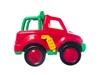 Машинка красный джип. Вид 2