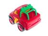 Машинка красный джип. Вид 3