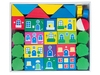 Конструктор Цветной городок 41 деталь. Вид 2
