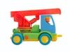 Пожарный грузовик . Вид 3