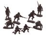 Солдатики Японская пехота. Вид 3